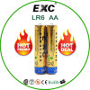 AA Lr6 Battery Alkaline Batter Dry Four Packs Lr6