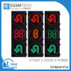 Turn Round U Turn Traffic signal Light with 2 Digital 3 Colors Counterdown Timer Red Yellow Green Dia. 300mm 12 Inch