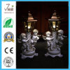 Polyresin Angel Solar Garden Light Outdoor Lighting