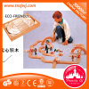 Intelligent Toy Montessori Education Brick Toy Wood Building Blocks