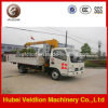 2 Ton Small Mobile Truck Crane with Telescopic Jib Boom