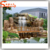 New Design Artificial Rock Waterfall Made of Fiberglass