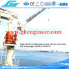 Ship Deck Hydraulic Telescopic Offshore Crane 5t@11m
