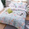 Lovely Designer Tropical Style Reactive Print Cotton Bedding Set