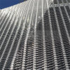 3D Metal Facade Aluminum Perforated Facade Panel
