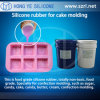 FDA Platinum Silicone Rubber for Cake Mold