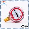Red Case Manometer Vibration-Proof Welding Pressure Gauge