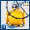 Didtek Fire Safe Design Flange Ends Full Welded Ball Valve