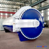 2500X5000mm Highly Efficient Forced Convection Glass Autoclave with Full Automation