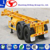 2 Axles 50 Tons Skeleton/Skeletal Container Semi Trailer