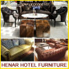 UK Style Modern Chesterfield Leather Sofa for Hotel Lobby Furniture