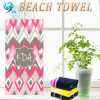 2017 Year Luxury Velour Carton Print Beach Towel