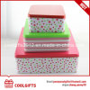 Food Grade Cookie Chocolate Tin Box Container with Different Size