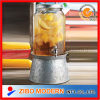 2015 New Glass Drink Dispenser with Base and Ice Container