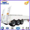 3 Axle 50t-80t Low Bed/Lowboy Sidewall Semi Truck Trailer for Sale