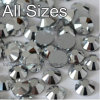 Sparkle Non Hot Fix Crystal Rhinestone for Lady Bags Decoration (FB-SS20 silver)