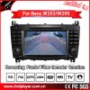 Anti-Glare (Optional) Carplay Android DVD Player for Benz C-Class W203/Clk GPS Navigation W209 Radio/Bt