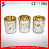Wholesale Color Clear Hollow Religious Candle Glass Jars