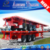 Aotong Container Trailer, Flatbed Semi Trailer for Sale