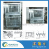 Warehouse Stackable Folding Metal Wire Mesh Pallet Container for Sales