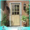 36 in. X 80 in. 9 Lite Unfinished Dutch Hemlock Prehung Front Door