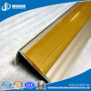 Fluted PVC Inserts Aluminum Metal Stair Nosing