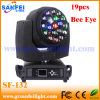 Bee Eye 19PCS 15W LED Beam Moving Head Lighting