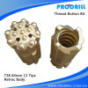 T38/T45/T51 Steel Skirt/Carbide Thread Retrac Button Bit for Top Hammer