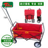 Pulling Along Hand Wagon Cart Beach Folding Cart Fw3017