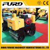 Double Drum Walk Behind Hydraulic Mini Small Vibratory Road Roller