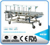 Stainless Steel Manual Three Function Transport Stretcher