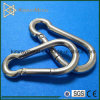 Galvanized / Stainless Steel Spring Snap Hook with Screw Nut