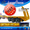 Best Sell Tri Axle Heavy Duty Low Flatbed Semi Trailer