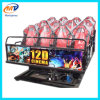 Exciting 5D 7D 9d 12D Cinema Simulator Simulation Virtual Reality 5.1 Surround Sound