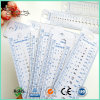 Free Shipping High Quality Eco-Friendly Plastic Ruler Shape Sewing Gauge