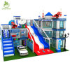 Durable Kids′ Zone Indoor Soft Playground Equipment Police Station Type
