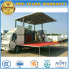Foton 6 Wheels High Quality Mobile Stage Performing Truck