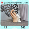 Polyresin Baby Angel with Buddha Hand Design Figure Resin Home Decoraiton