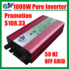 Promotion 1000W DC12V AC220V Pure Sine Wave Power Inverter