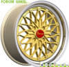 Forcar Gold Aluminium Alloy Wheel Rims