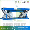 Small Hydraulic Fixed in Ground Economy Scissor Lift