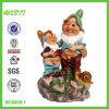 2014 Double Dwarfs Pissing Figurine (NF13070-1)