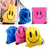 Smile Face Waterproof Drawstring Bag Mochila Swimming Bags School Bagpack