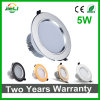 Home Lighting Fog-Proof 5W Recessed LED Downlight