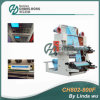 CE Standard 2 Color Flexographic Printing Machine (CH802-800F) 1+1