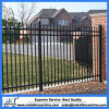 Ornamental Fence Panels 2100mm Stain Black Powder Spear Top Design