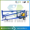 16m Light Duty Towable Trailed Man Sky Lift Boom Lift