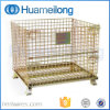 Foldable Stackable Steel Warehouse Cages