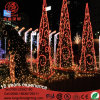 Customized Large 3m/6m/10m Garland LED 3D Christmas Tree Light for Shopping Mall
