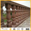 Chielsed Red Granite Balusters and Handrail for Balustrade